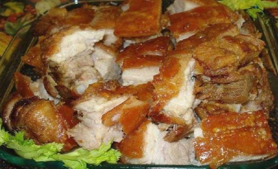 Cuchi Canca - Dentro de platos típicos de Ancash