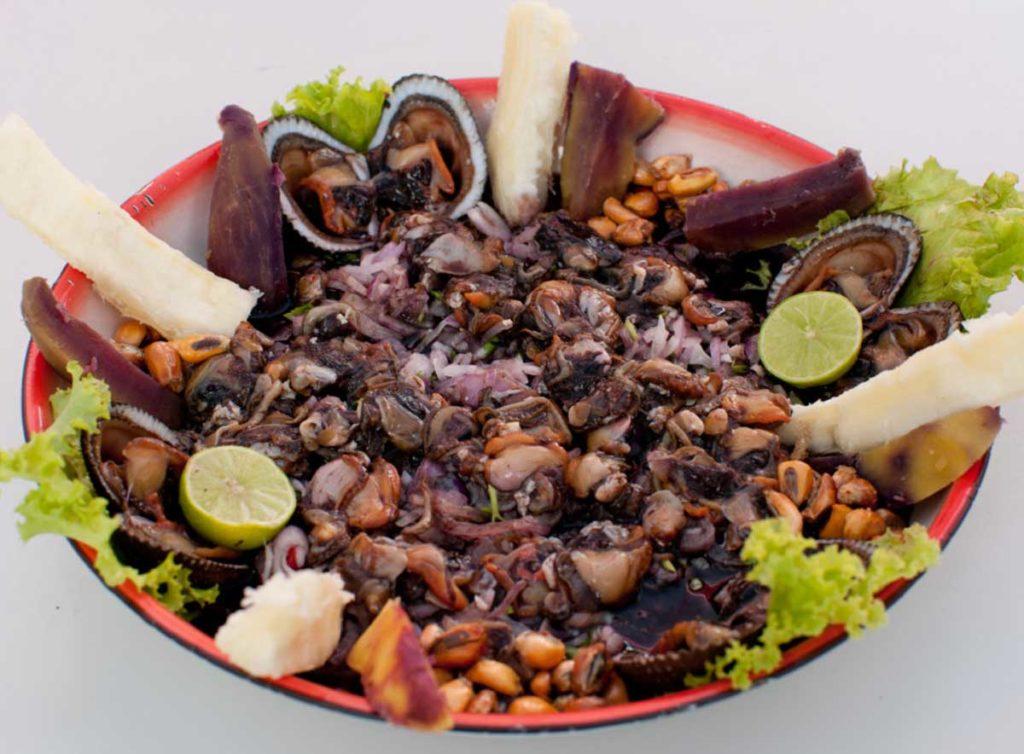 Ceviche de Conchas Negras - Platos típicos de Tumbes