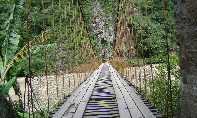 Puente Colgante Kimiri