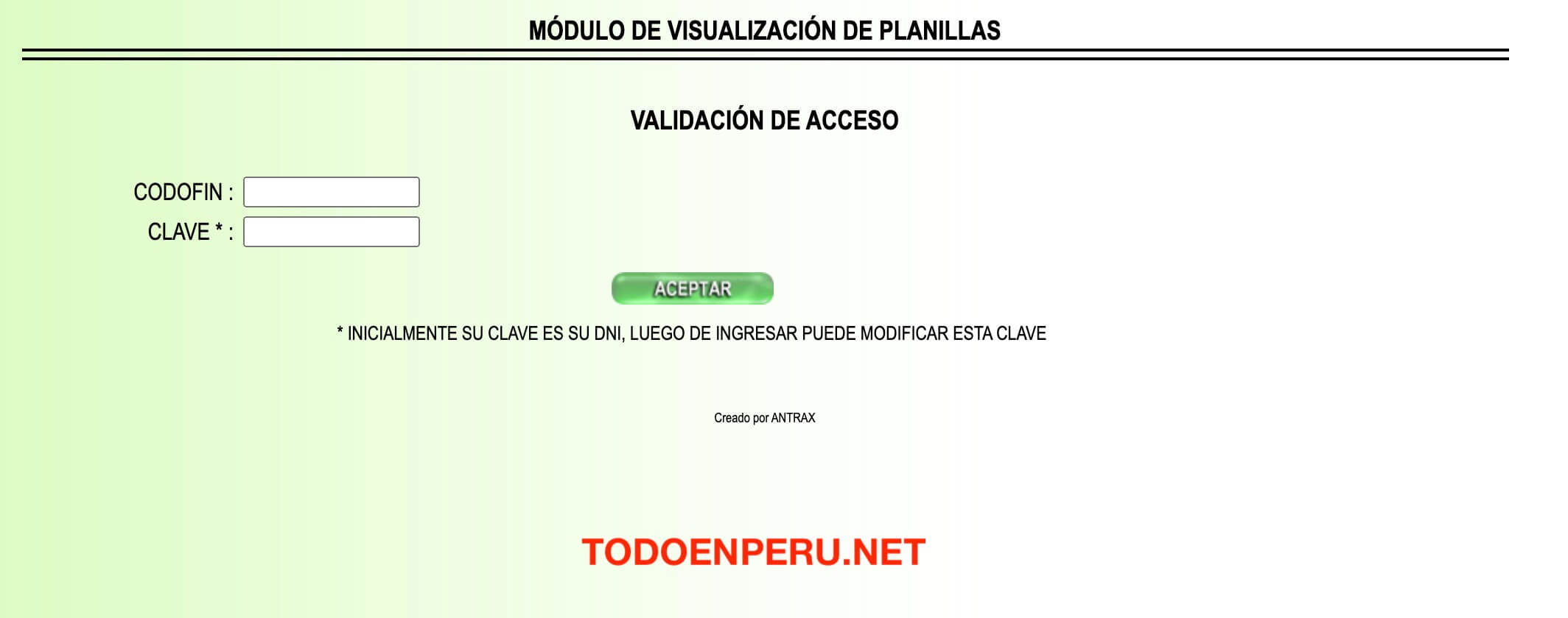 Planilla Virtual PNP, como consultar e imprimir paso a paso