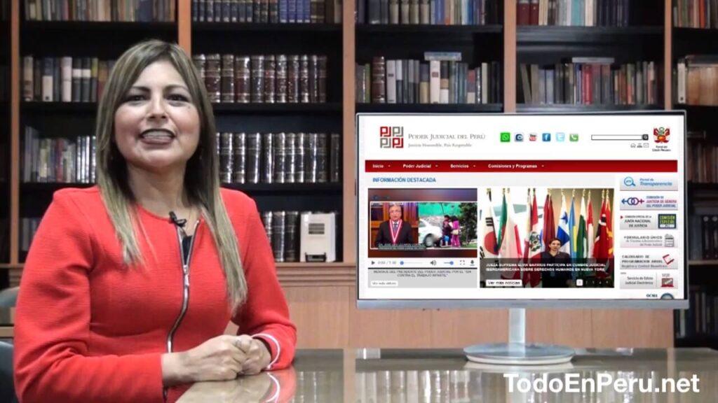 Como saber si tengo proceso judicial en Peru