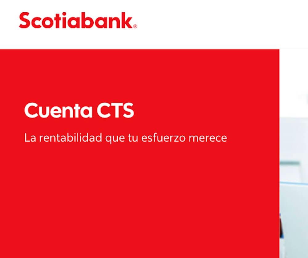 Retiro CTS Scotiabank